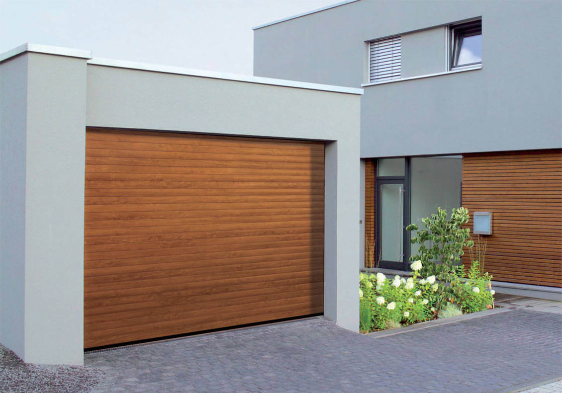 installation porte garage enroulable